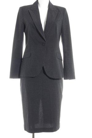Zara Basic Kostüm anthrazit meliert Business-Look