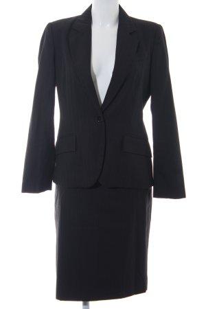 Zara Basic Kostüm schwarz Nadelstreifen Business-Look