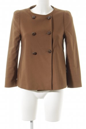 Zara Basic Kurz-Blazer cognac Business-Look