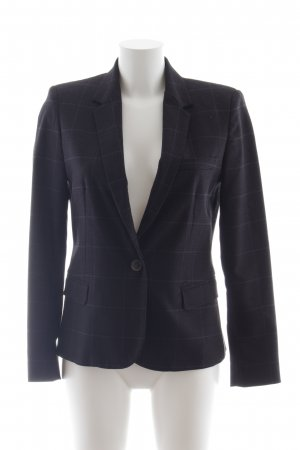 Zara Basic Kurz-Blazer Karomuster Business-Look