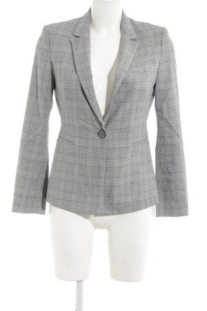 Zara Basic Kurz-Blazer Karomuster Business-Look