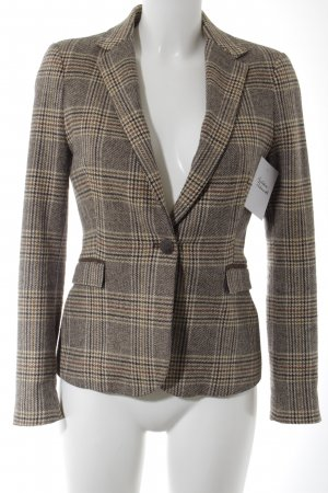 Zara Basic Short Blazer check pattern classic style