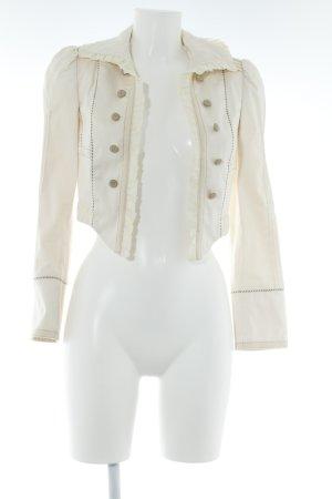 Zara Basic Kurz-Blazer mehrfarbig extravaganter Stil