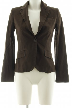 Zara Basic Kurz-Blazer schwarz-anthrazit Business-Look
