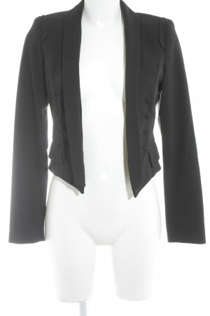 Zara Basic Short Blazer black business style