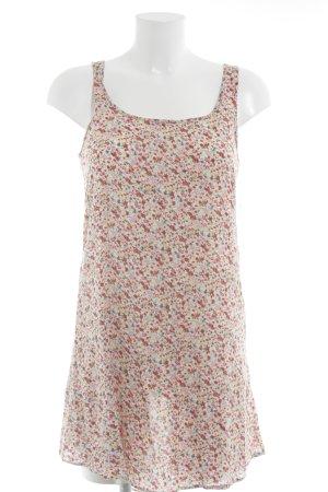 Zara Basic Kurzarm-Bluse Streifenmuster schlichter Stil