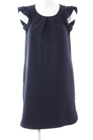 Zara Basic Kurzarmkleid blau Elegant