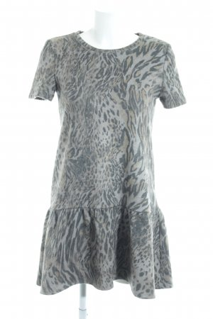 Zara Basic Kurzarmkleid Animalmuster Animal-Look