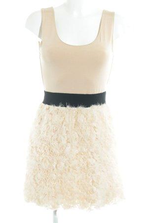 Zara Basic Kurzarmkleid mehrfarbig extravaganter Stil
