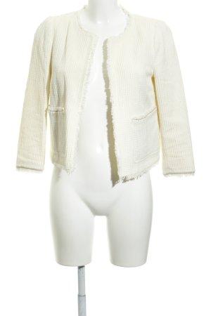 Zara Basic Kort jack licht beige casual uitstraling