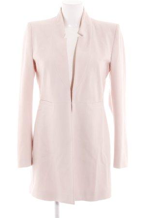 Zara Basic Kurzmantel pink Casual-Look