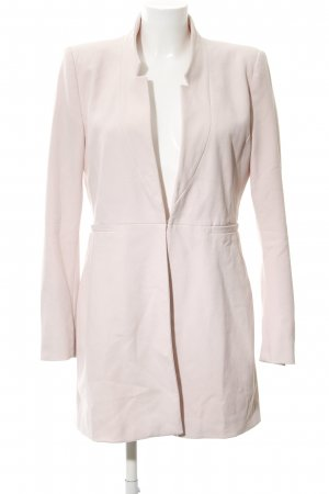 Zara Basic Kurzmantel rosé Business-Look