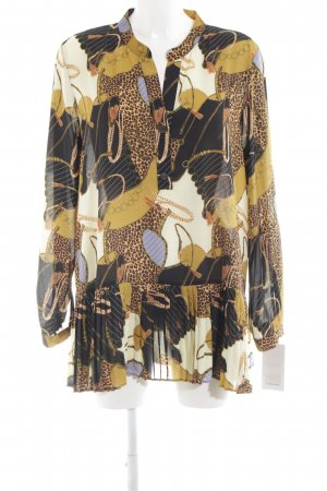 Zara Basic Langarm-Bluse Mustermix Casual-Look