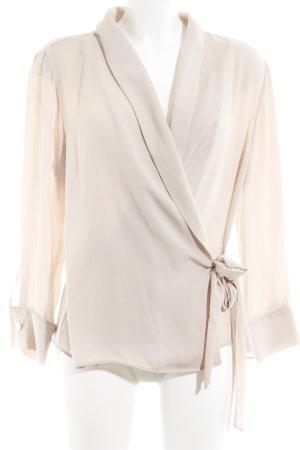 Zara Basic Langarm-Bluse altrosa Elegant