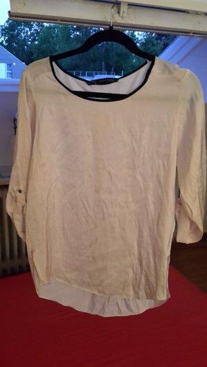 Zara Basic Langarm-Bluse, Gr. M/38