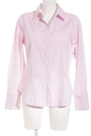 Zara Basic Langarm-Bluse rosé Elegant