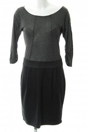 Zara Basic Langarmkleid meliert Casual-Look
