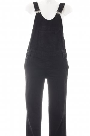 Zara Basic Peto negro Algodón