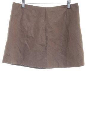 Zara Basic Leren rok veelkleurig Boho uitstraling