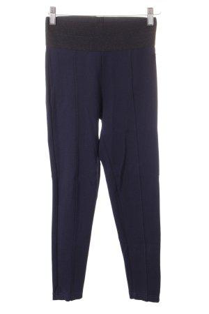 Zara Basic Leggings dunkelblau Casual-Look
