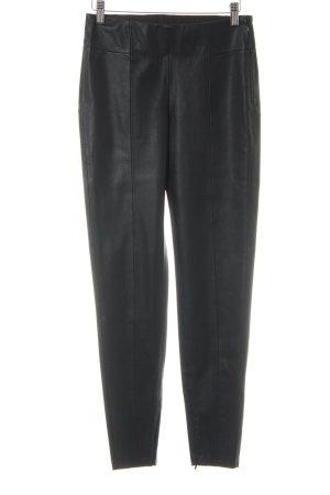 Zara Basic Leggings schwarz Glanz-Optik