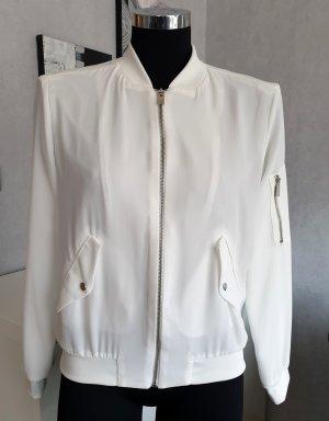 Zara Basic Blouson white