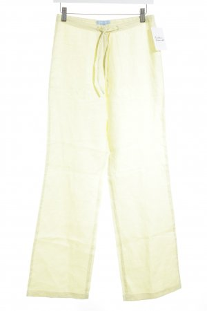 Zara Basic Linen Pants multicolored casual look