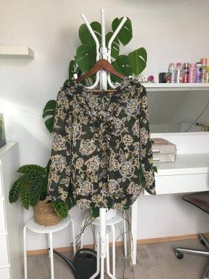Zara Basic Camicia a tunica multicolore