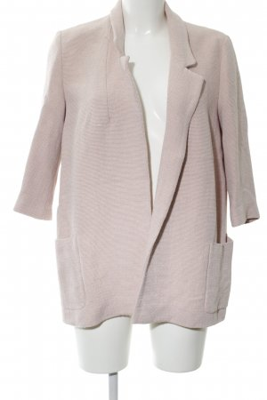 Zara Basic Long-Blazer pink Webmuster Casual-Look