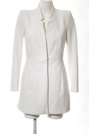 Zara Basic Lange blazer wit elegant