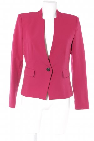 Zara Basic Long-Blazer magenta Business-Look