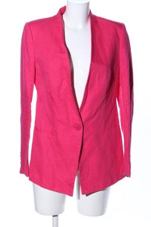 Zara Basic Blazer largo rosa elegante