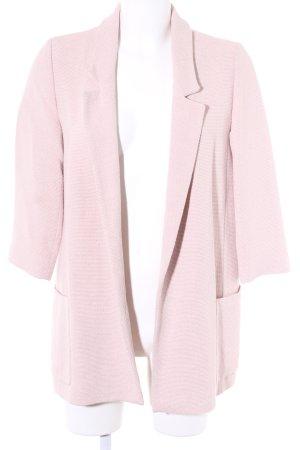Zara Basic Long-Blazer rosé schlichter Stil