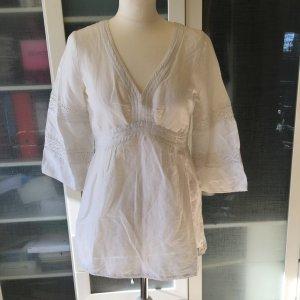 Zara Basic Long Bluse Gr. M