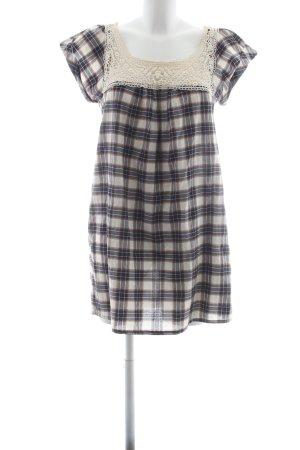 Zara Basic Longshirt Karomuster Casual-Look