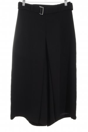 Zara Basic Marlene Trousers black casual look