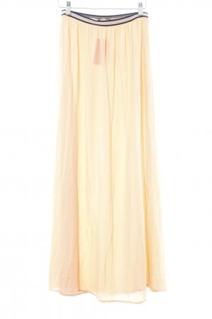 Zara Basic Maxi gonna albicocca stile casual