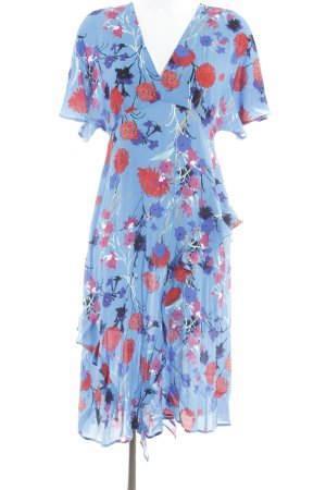 Zara Basic Midi Dress flower pattern street-fashion look