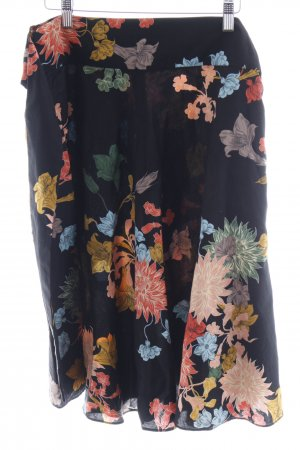 Zara Basic Midi-rok bloemenprint