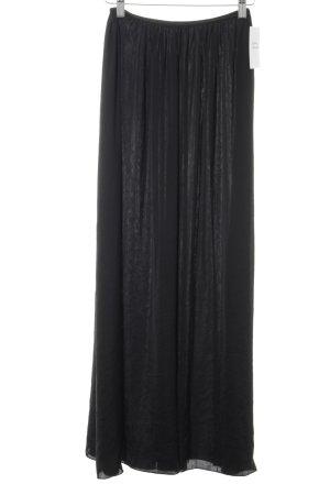 Zara Basic Midirock schwarz Elegant