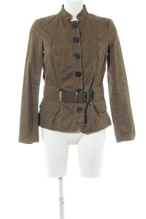 Zara Basic Veste militaire vert olive style militaire