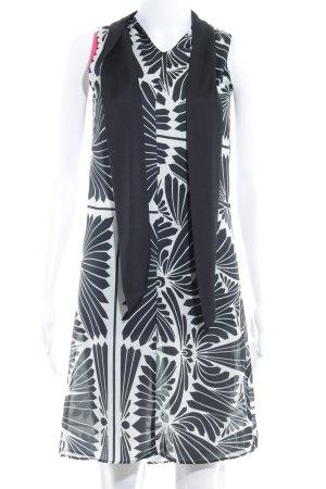 Zara Basic Minikleid abstraktes Muster Elegant