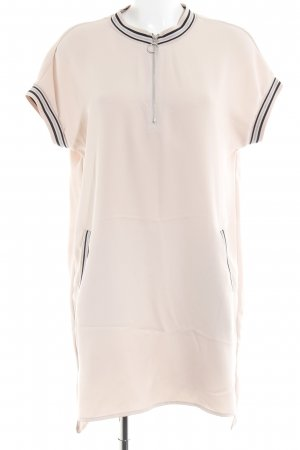 Zara Basic Minikleid altrosa sportlicher Stil