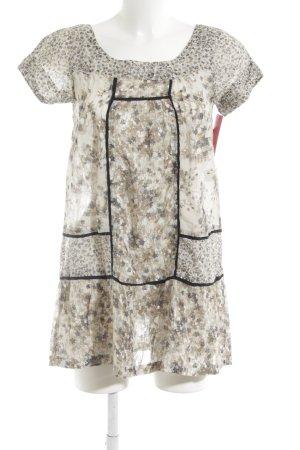 Zara Basic Minikleid Blumenmuster Casual-Look