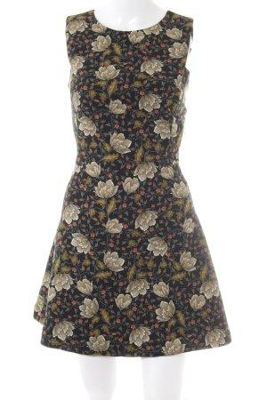 Zara Basic Minikleid florales Muster