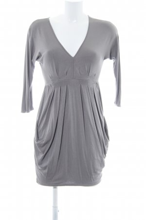 Zara Basic Minikleid grau Party-Look