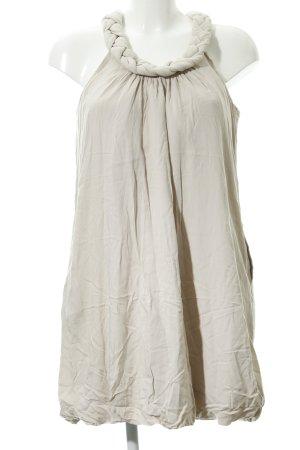 Zara Basic Minikleid hellbeige Casual-Look