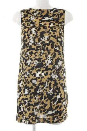Zara Basic Minikleid Mustermix Animal-Look