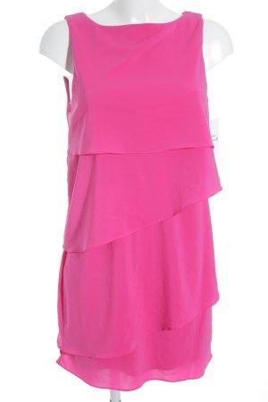 Zara Basic Minikleid pink extravaganter Stil