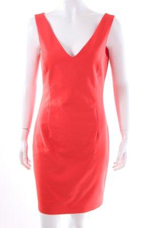 Zara Basic Minikleid rot